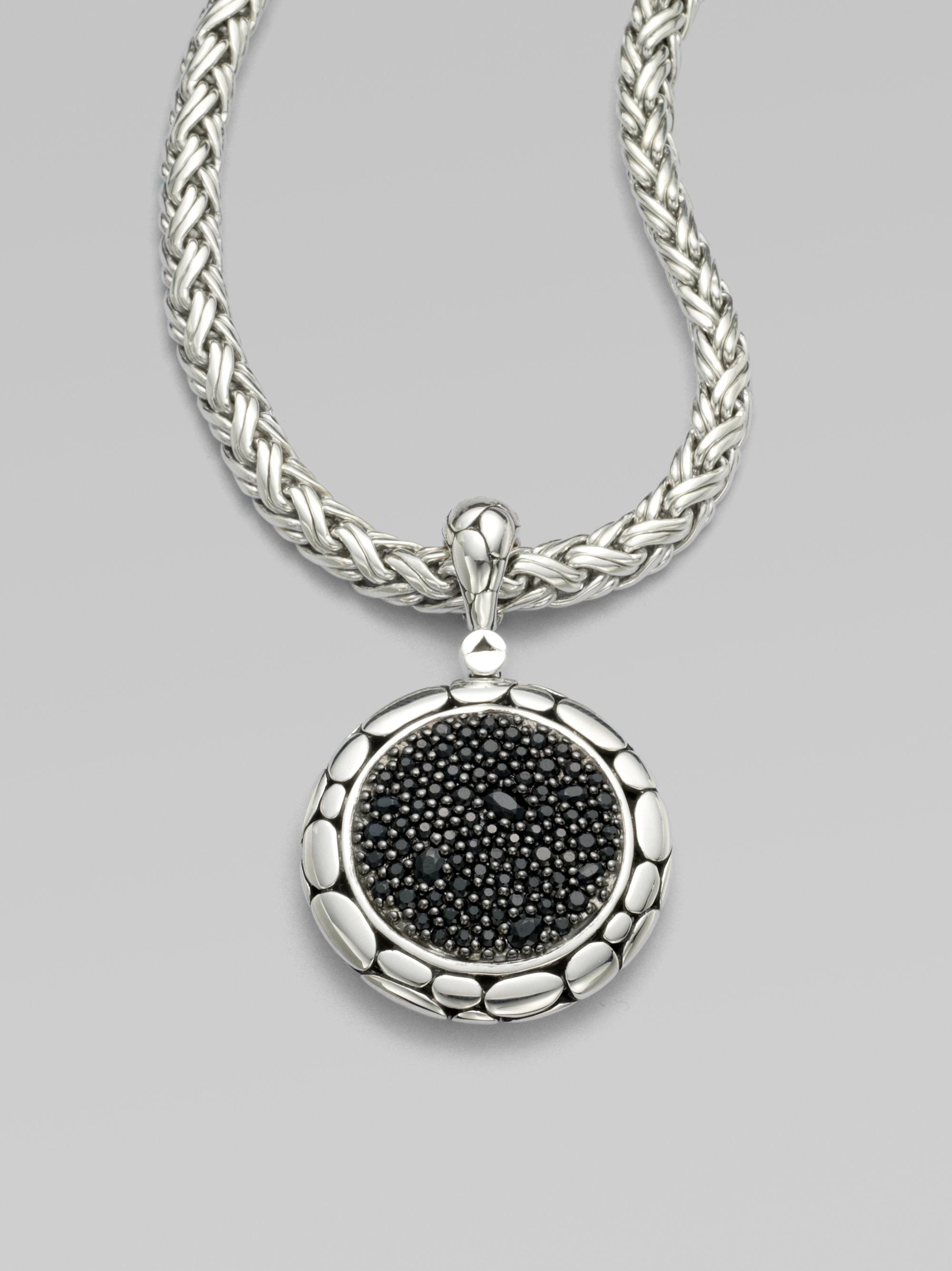John Hardy Kali Black Sapphire Amp Sterling Silver Lava