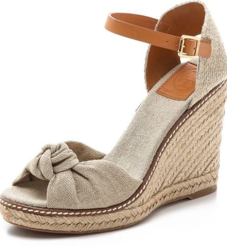 Tory Burch High Wedge Espadrilles