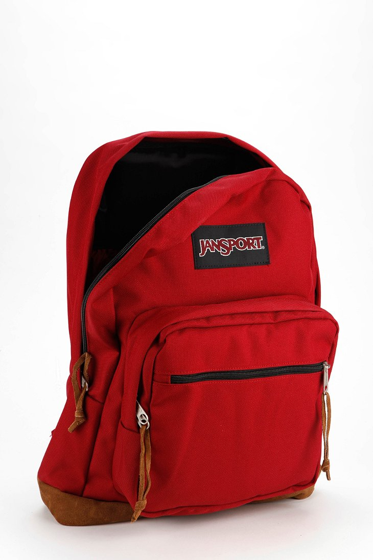 Lyst Jansport Right Pack Backpack In Red