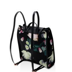 c5a38c7cb3c3 Lyst Ted Baker Kensington Floral Nylon Backpack In Black