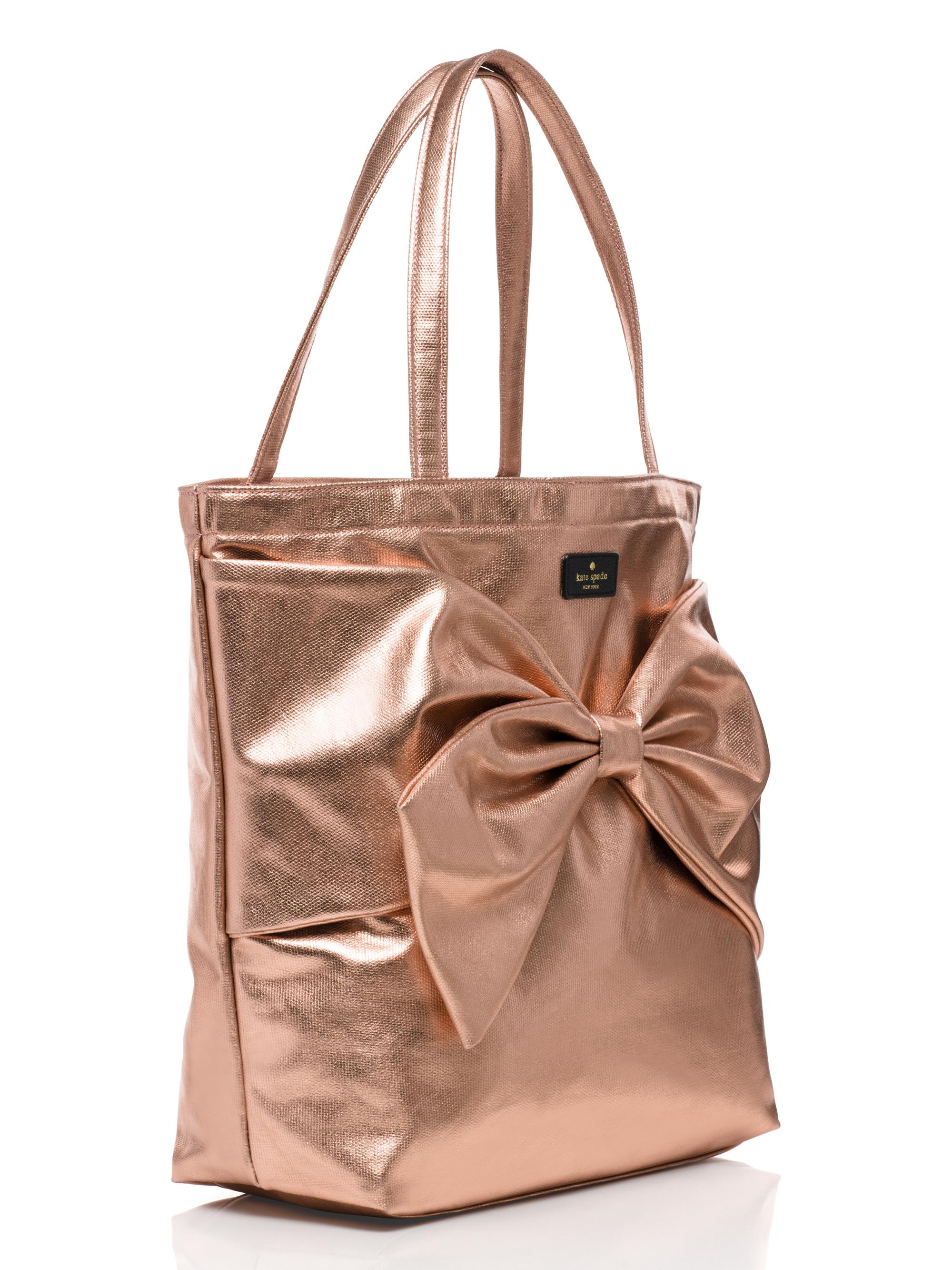 Lyst Kate Spade New York On Purpose Rose Gold Metallic