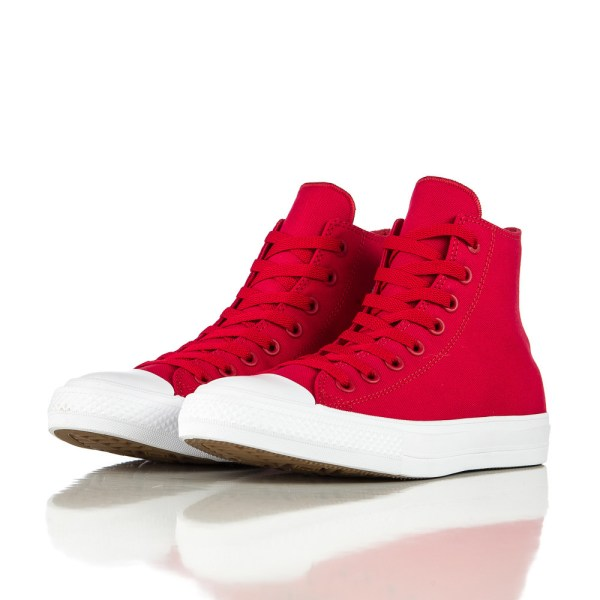 Converse Chuck Taylor All Star Ii In Salsa Red/white for ...