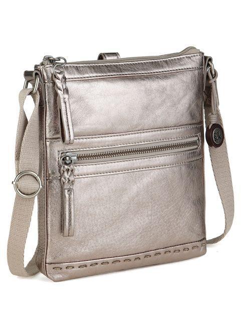 The Sak Pax Swing Crossbody Bag In Gray Lyst