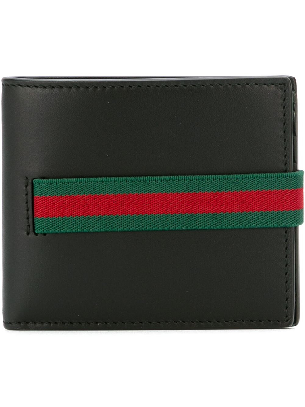 Gucci Elastic Wallet In Red For Men Lyst