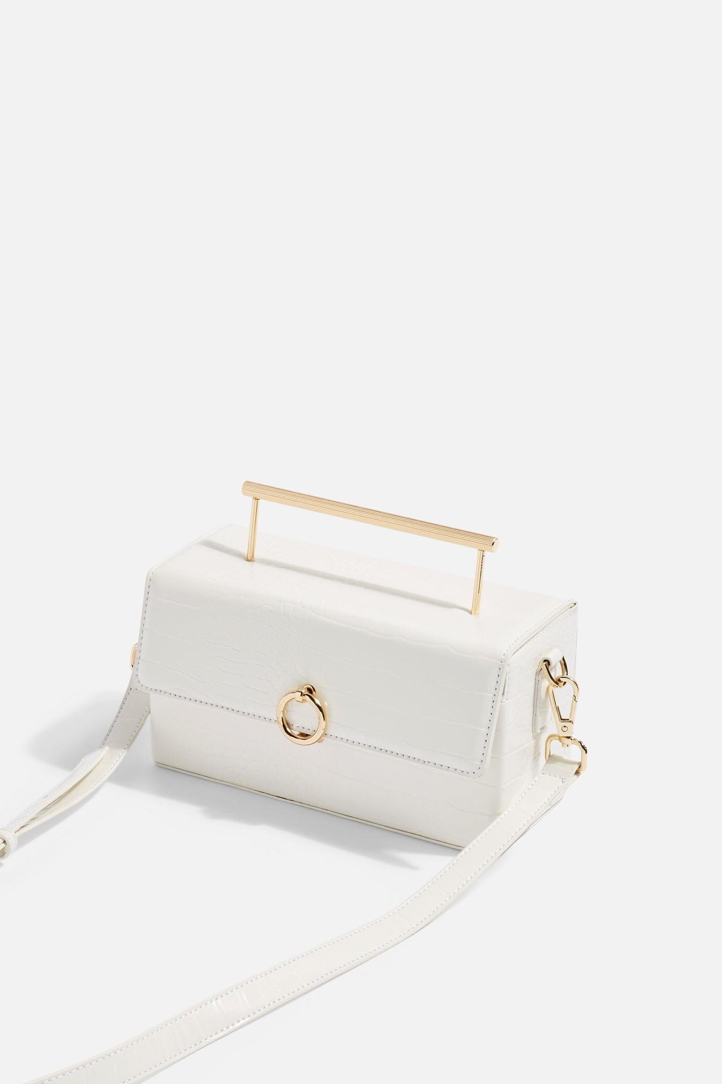 Boxy Grab Bag – White