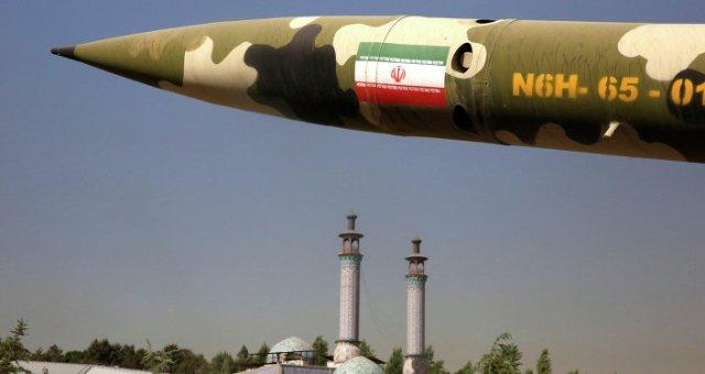 un missile exposé à Tehran, image d'illustration