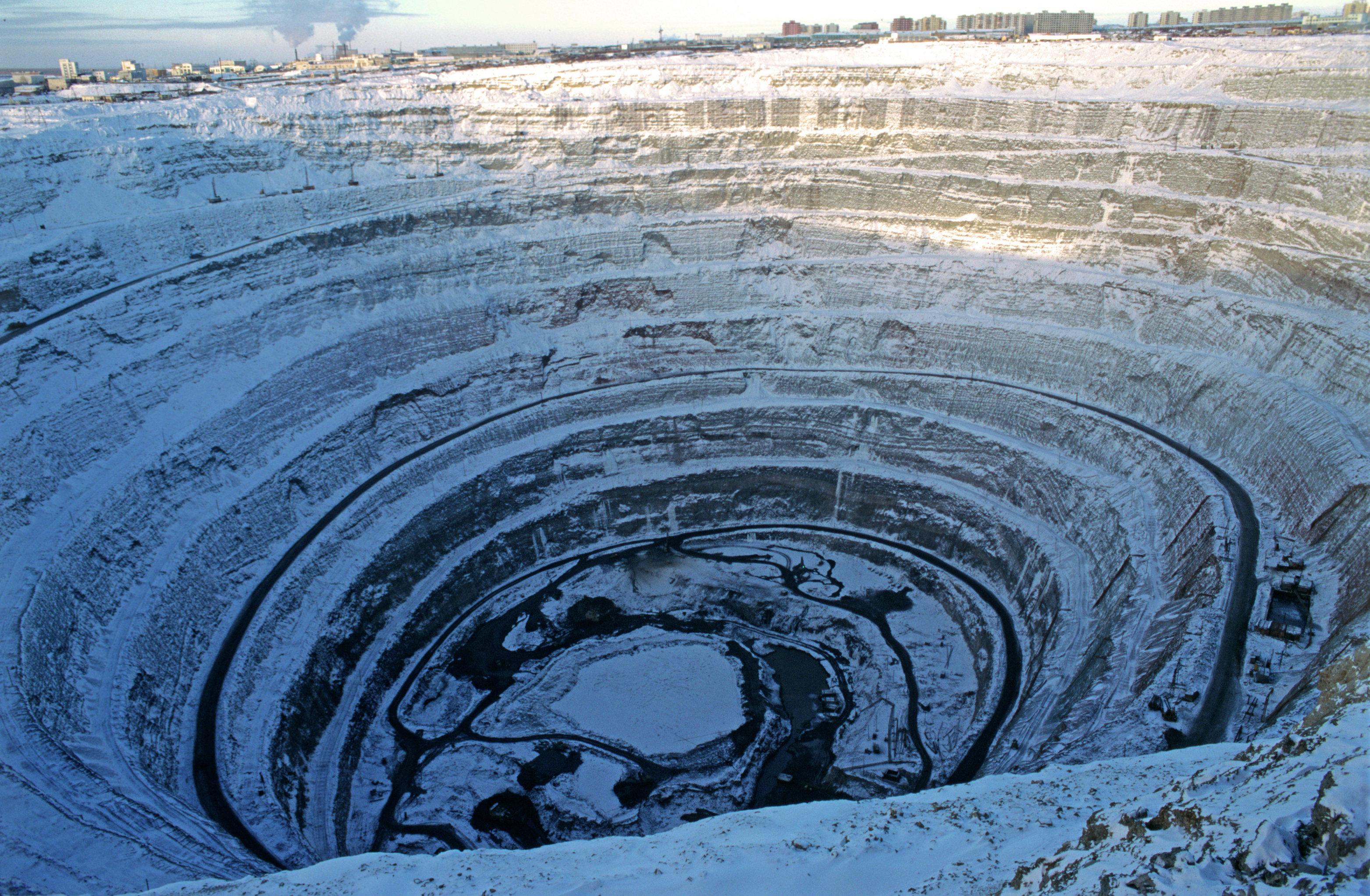 Une mine de diamants en Yakoutie