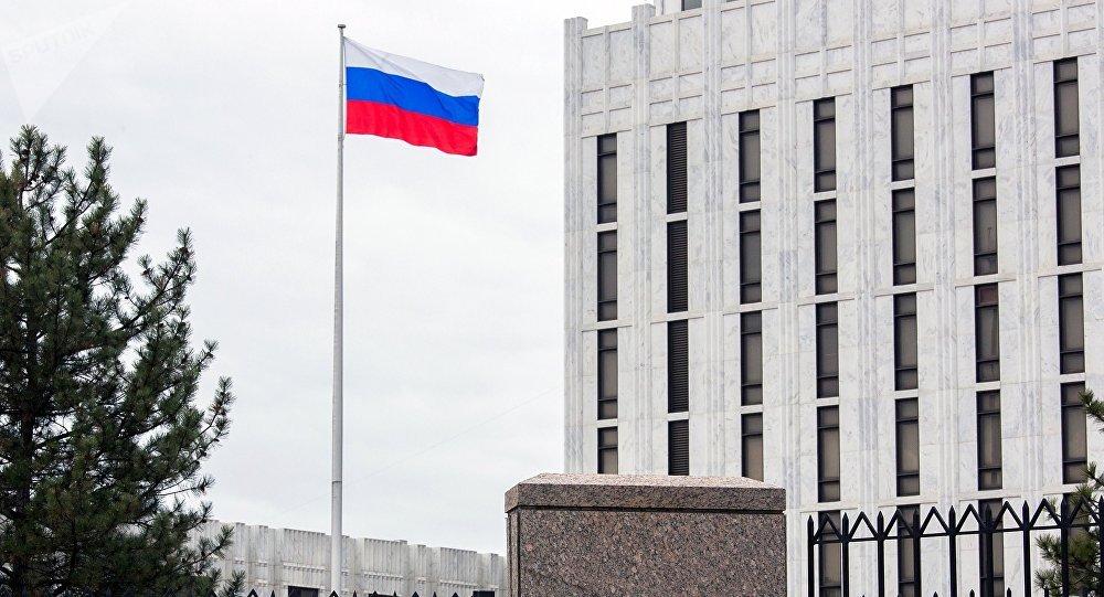 L'ambassade russe aux USA fustige l'idée que la Russie doive quitter le Proche-Orient