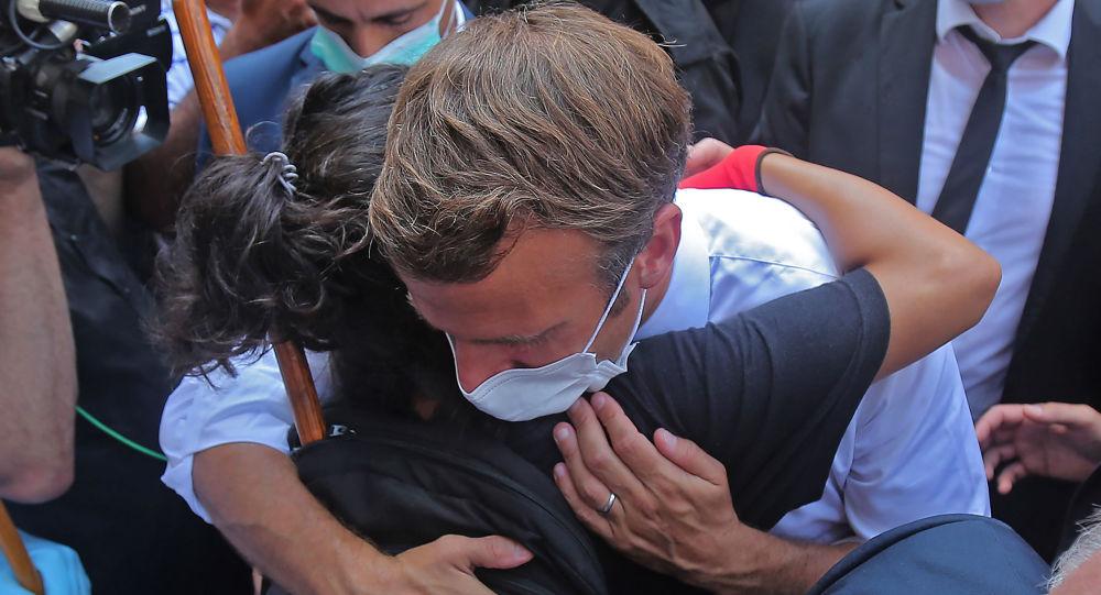 «Le peuple veut la chute du régime»: Macron interpellé à Beyrouth pour s'opposer aux dirigeants - vidéos