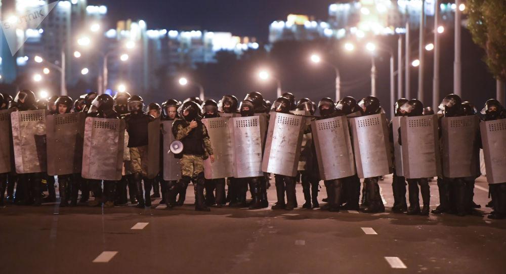 Plus de 200 interpellations lors des manifestations à l'issue de la présidentielle biélorusse