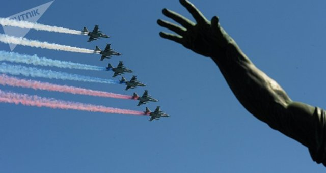 La longue main du Kremlin. Image d'illustration