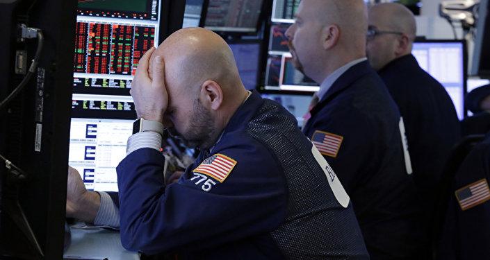 Crise économique. Image d'illustration
