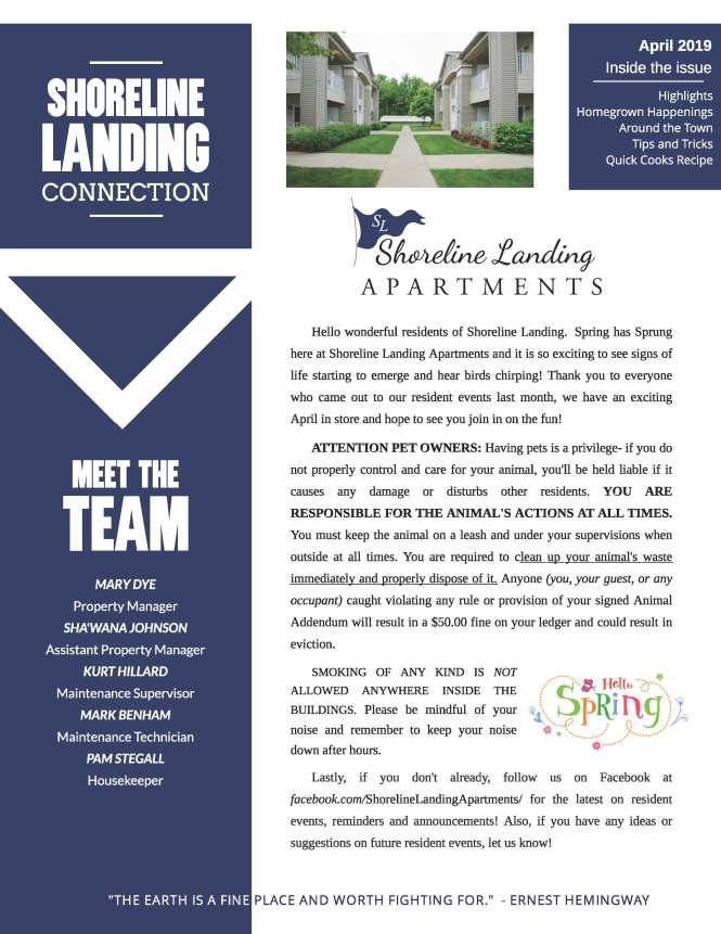 The Sline Landing Apartments Community