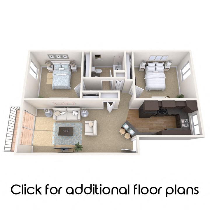 Floor Plans Of Collingwood Apartments In East Lansing Mi