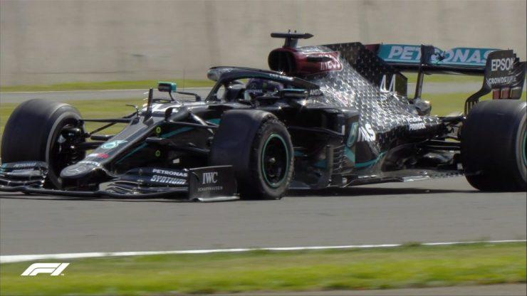 Lewis Hamilton, Valtteri Bottas, GP da Inglaterra 2020,