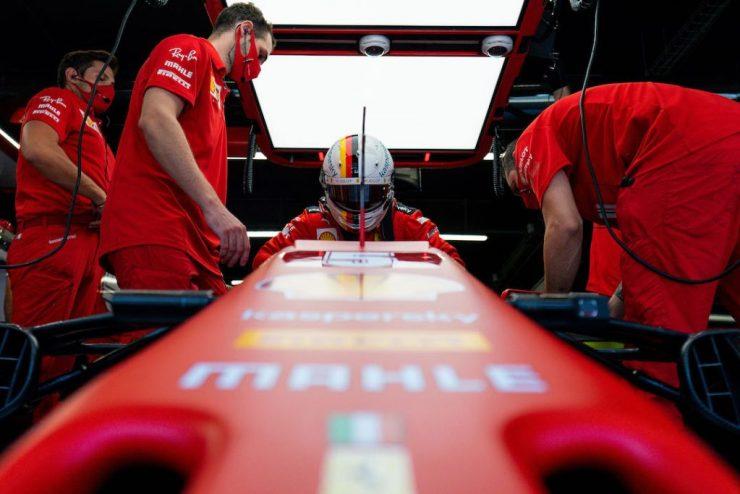Sebastian Vettel, Ferrari, 2020