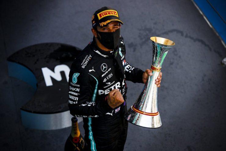Lewis Hamilton, GP da Espanha 2020,