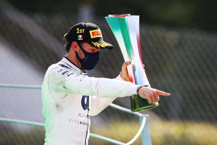 Pierre Gasly, GP da Itália 2020, primeira vitória