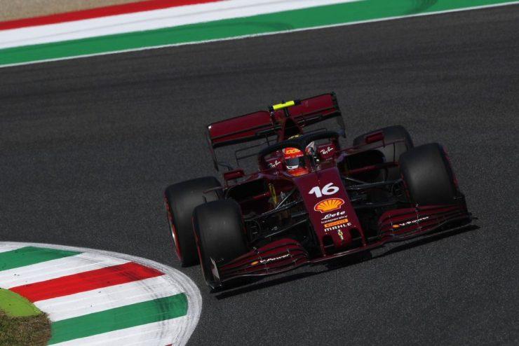 Carro da Ferrari de 2020