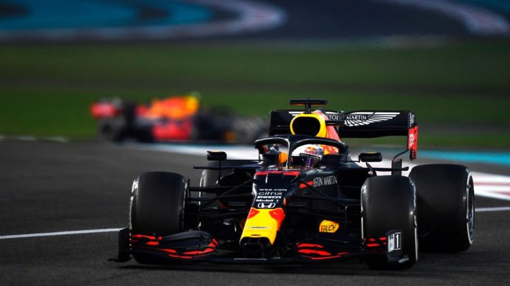 Verstappen no GP de Abu Dhabi