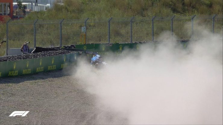 GP da Holanda 2021, George Russell,