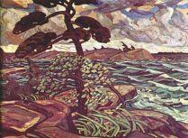 A September Gale Georgian Bay (1921) - Arthur Lismer