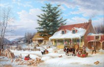 Early Canadian Homestead (c. 1859)