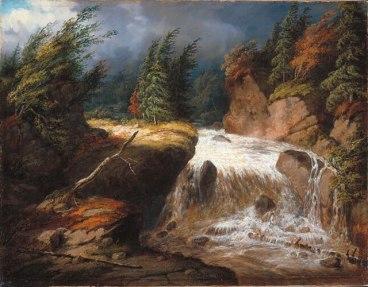 The Passing Storm, Saint-Ferréol (c. 1854)