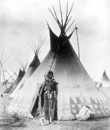 Blackfoot Brave (1889). Photographer: Unknown