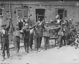 Canadian Soldiers Celebrate Dominion Day in France (1917)