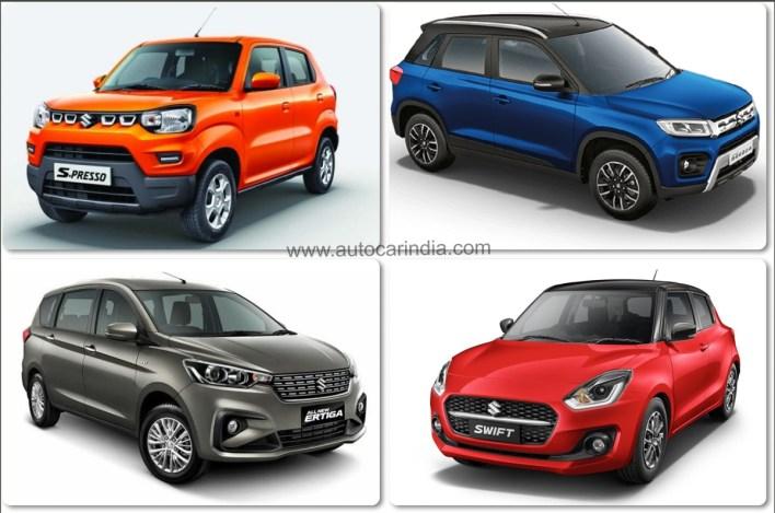 maruti suzuki arena line-up gets connected car tech | autocar india