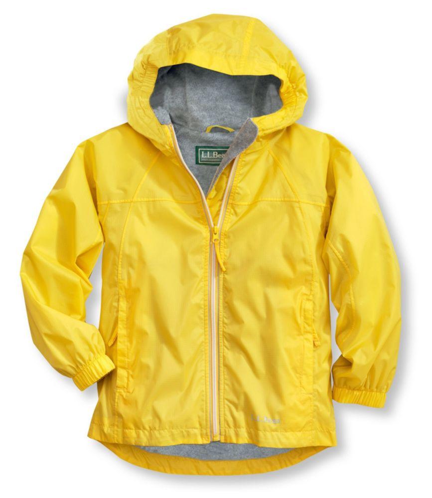 Kids Discovery Rain Jacket Lined