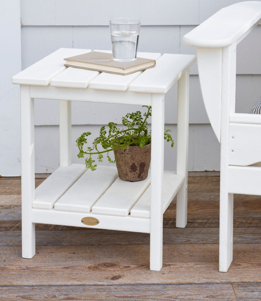all weather square side table