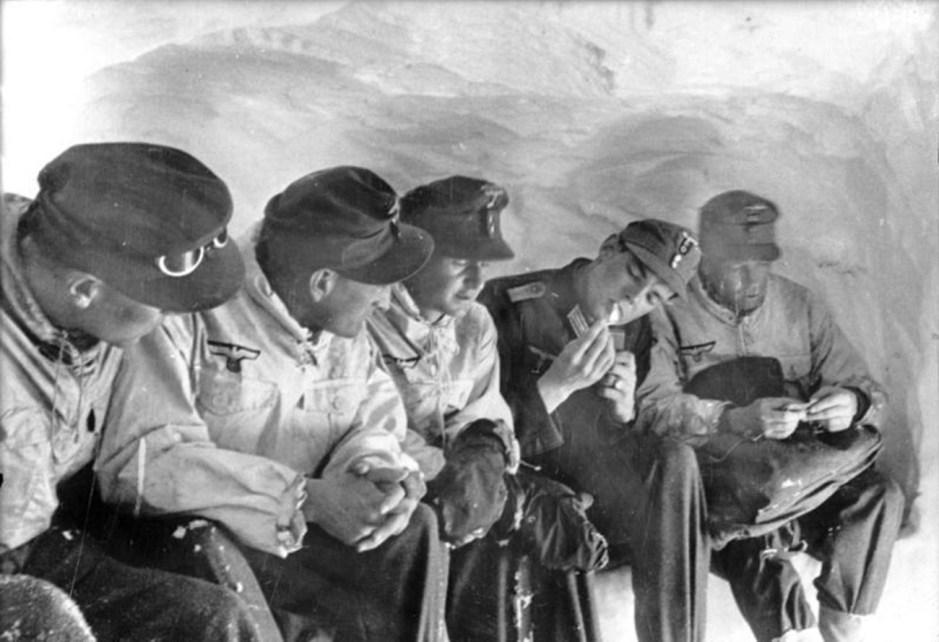 Soldados del Cuerpo de Fusileros de Montaña