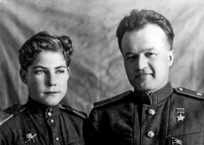 Arkady Kamanin and Nikolai Kamanin.