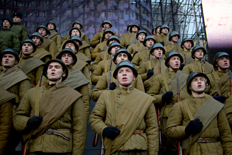 The Soviet WWII Uniform No Frills But A Little Too Eye