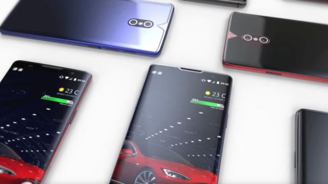 Muestran el concepto de 'teléfono inteligente de Tesla' (VIDEO)