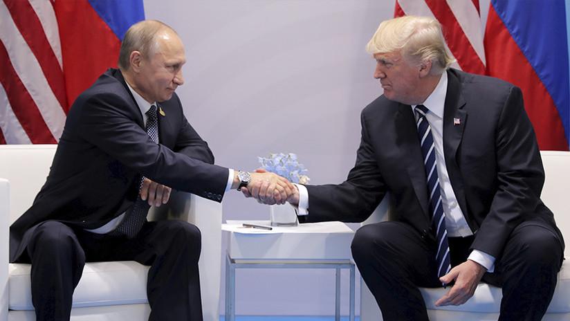 """Trump y la inteligencia de EE.UU. """"están complacidos"""" de haber ayudado a Rusia a evitar un atentado"""