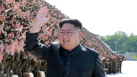 El líder de Corea del Norte, Kim Jong-un, en Pionyang, en una foto difundida por la agencia KCNA el 1 de septiembre de 2017.