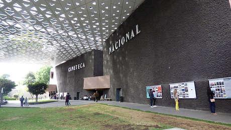 Interior de la Cineteca Nacional de México.