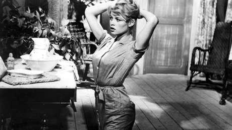 Brigitte Bardot en la película 'Y Dios creó a la mujer' (1956).