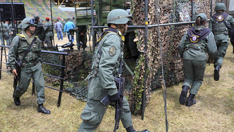 Resultado de imagen para ejercicios militares venezuela
