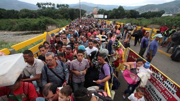 """La """"hipervisibilización"""" de la migración venezolana tiene ..."""