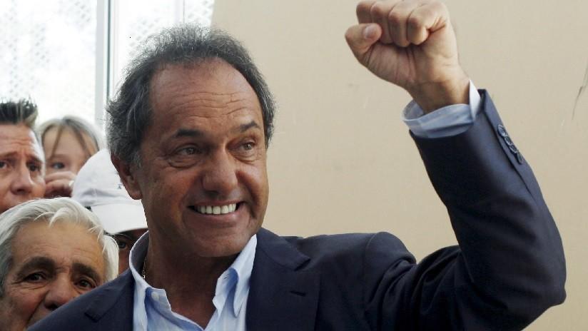 Excandidato argentino Daniel Scioli se lanza a la Presidencia para las elecciones de este año