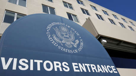 Edificio del Departamento de Estado en Washington, EE.UU., 26 de enero de 2017.