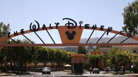 Los accesos a los estudios de Disney en Burbank, California