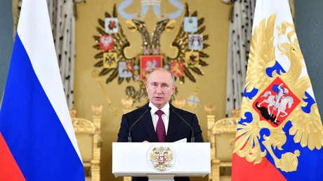 El presidente ruso Vladímir Putin.