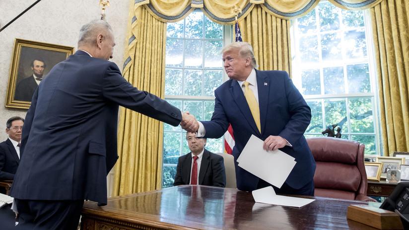 """Trump afirma que acaba de alcanzar con China """"el mayor acuerdo de la historia para los granjeros de EE.UU."""" y cuenta sus detalles"""
