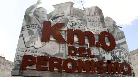 Postales desde la calle Nueva York, el kilómetro 0 del peronismo en Argentina