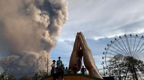 Posible tsunami volcánico en Filipinas: Alerta del nivel 4 tras la erupción del volcán Taal
